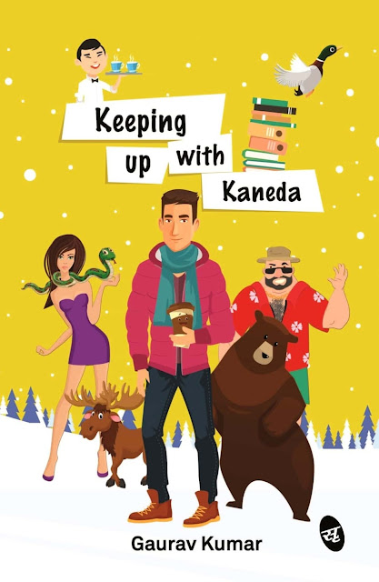 Book Review : Keeping Up with Kaneda - Gaurav Kumar