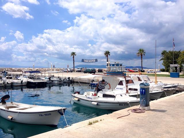 port i statki Makarskie Chorwacja