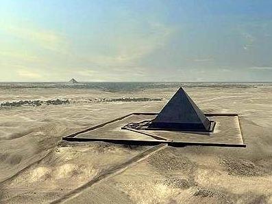 Resultado de imagen de 4ª pirámide perdida cerca de Giza