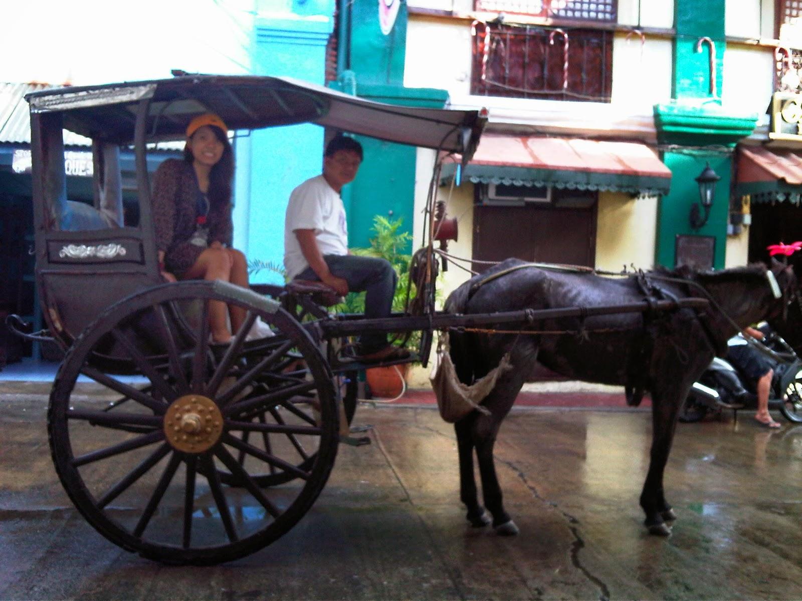 Kalesa, classic transportation in Vigan