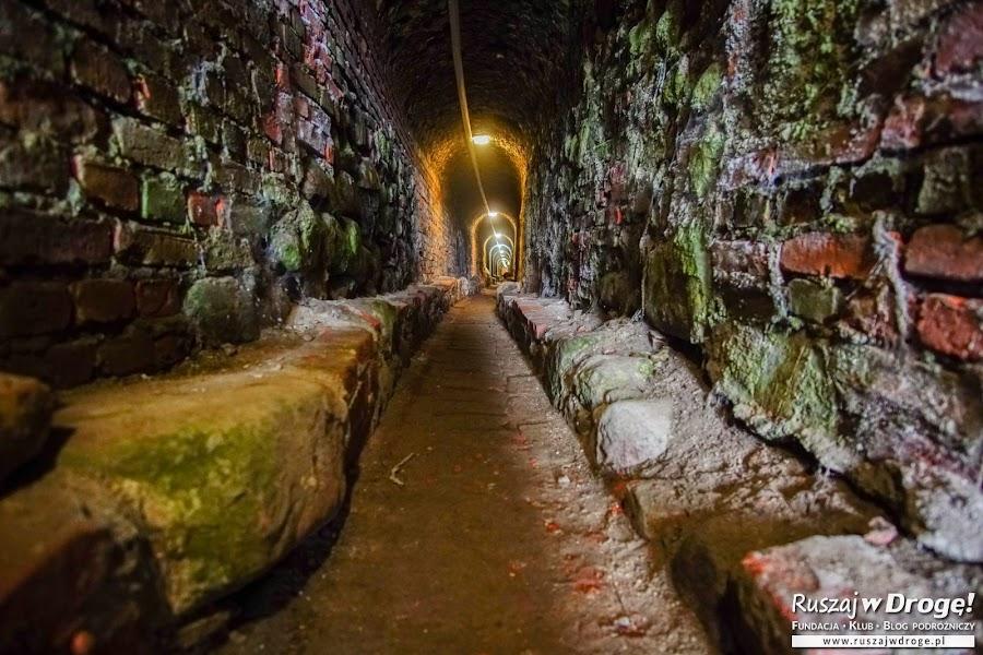 Prabuty - trasa podziemna w dawnych wodociągach miejskich