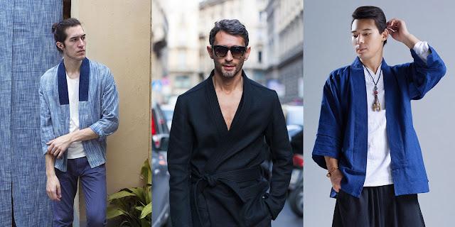 comment porter le kimono pour homme