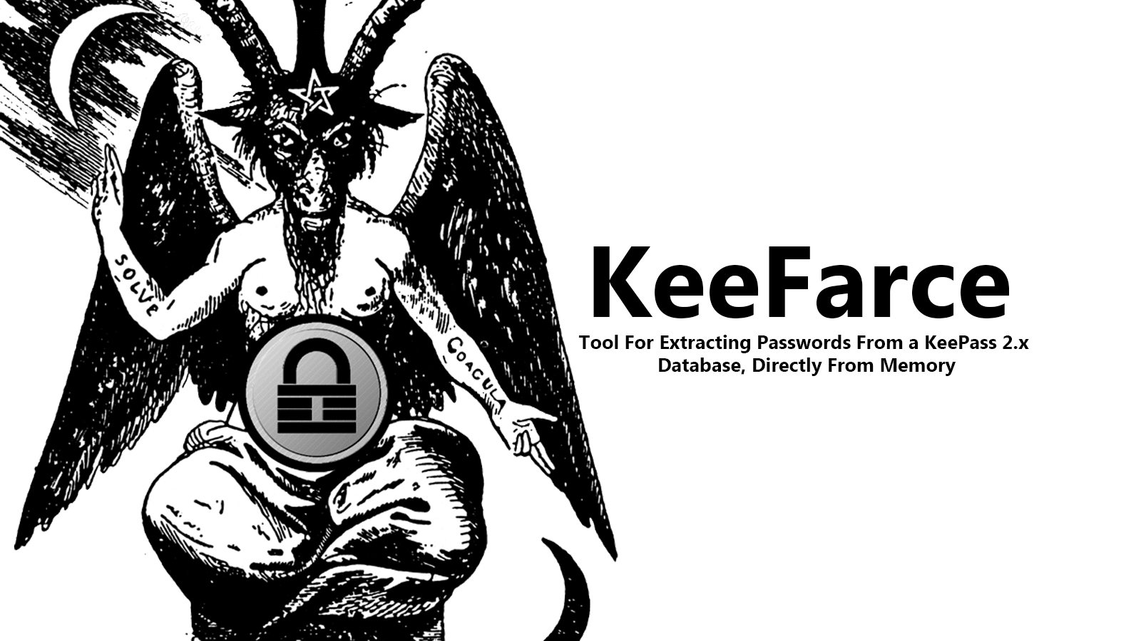 KeeFarce - Tool For Extracting Passwords From a KeePass 2.x Database, Directly From Memory