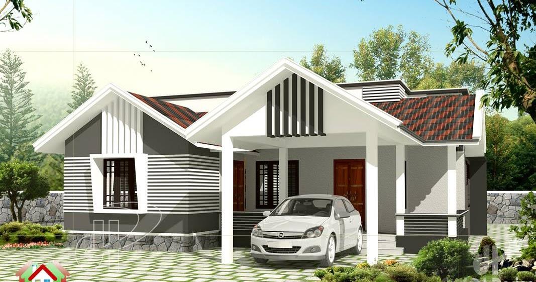 Stunning 1259 Square Feet 3 Bedroom Kerala Home Design