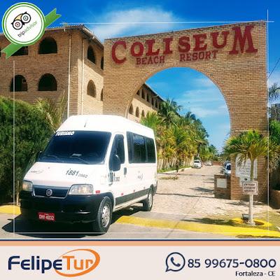 Traslado do Aeroporto de Fortaleza para Coliseum ou Parque das Fontes
