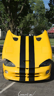 First Gen Dodge Viper Front Hood Up