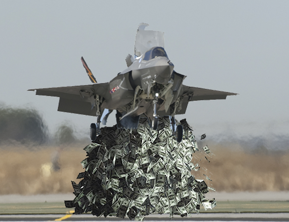 F-35A caught fire prior to takeoff