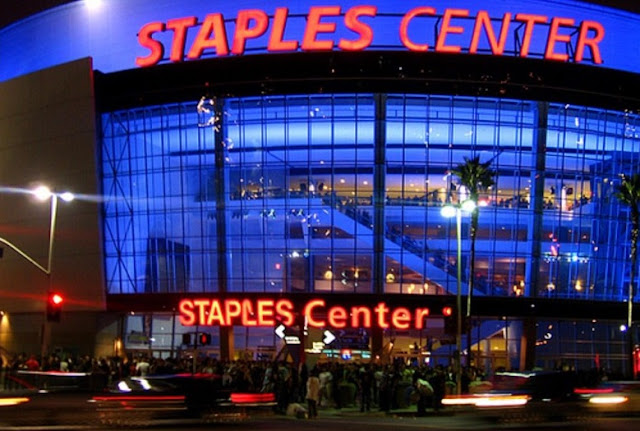 Staples Center Sports Arena em Los Angeles