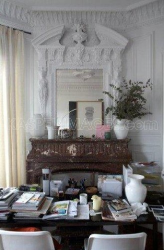 Rooms: White Wood Tones Natural Decor Living Room Family Beams