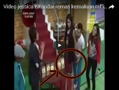 VIDEO Jessika Iskandar Pegang Itu-nya Raffi Ahmad! Katanya PAS BANGET! N0 SENS0R!