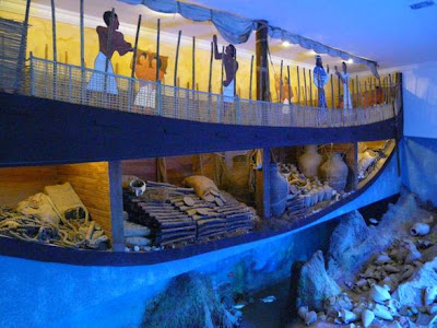 The Uluburun Shipwreck at the Acropolis Museum
