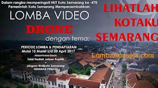 Kompetisi Membuat Video Drone di Semarang Hadiah Jutaan