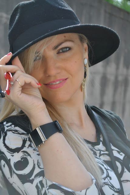 outfit cappello fedora come abbinare il cappello fedora outfit aprile 2016 outfit primaverili spring outfit april outfit mariafelicia magno fashion blogger color block by felym fashion blogger italiane fashion blog italiani fashion blogger milano blogger italiane blogger italiane di moda blog di moda italiani ragazze bionde blonde hair blondie blonde girl fashion bloggers italy italian fashion bloggers influencer italiane italian influencer