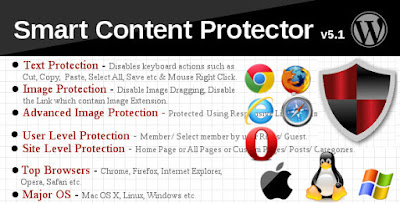 Download Smart Content Protector Pro WP Copy Protection v5.7 Plugin