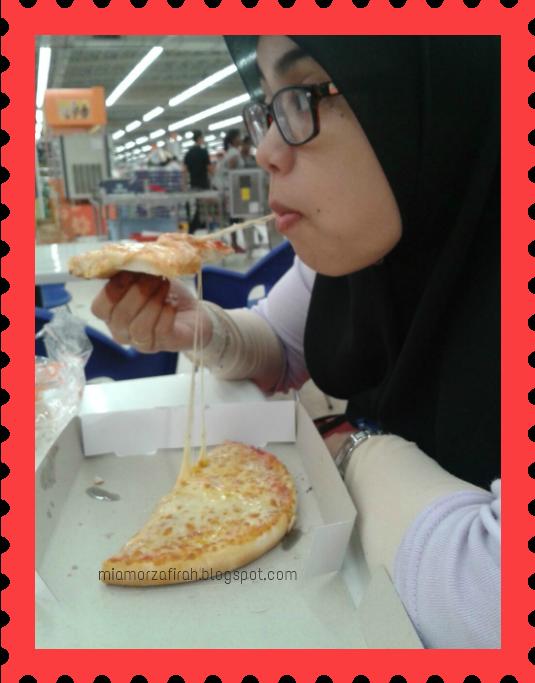 pizza sedap, pizza aeon big, pizza murah dan sedap, mampu milik, makan sedap,makan murah