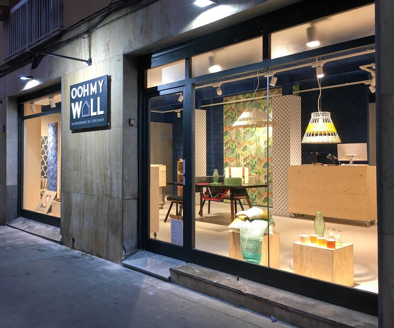 Noticias de castelldefels oohmywall abre un nuevo espacio for Estudios de interiorismo barcelona
