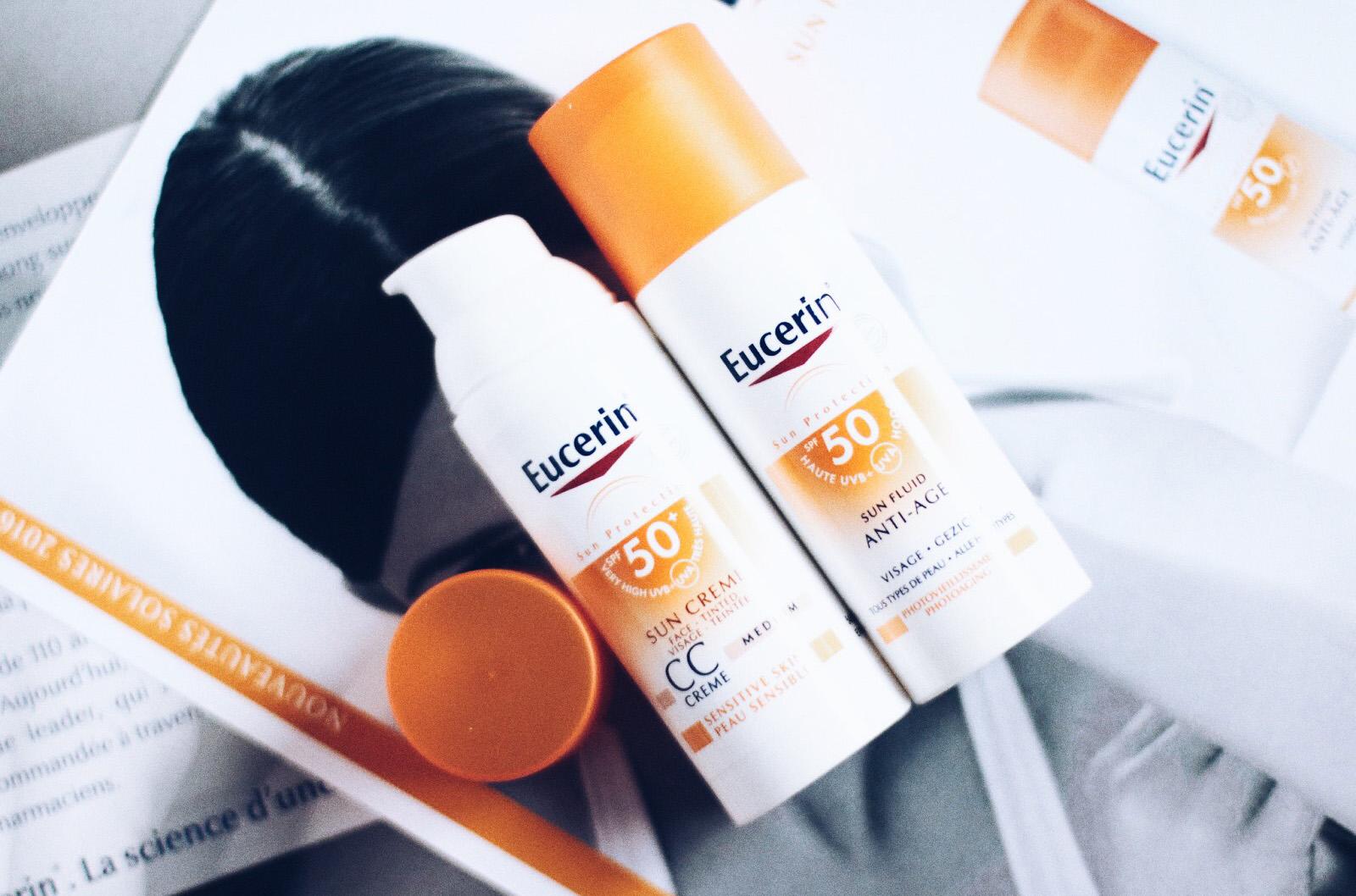 eucerin fluide anti age solaire cc crème spf 50 avis test