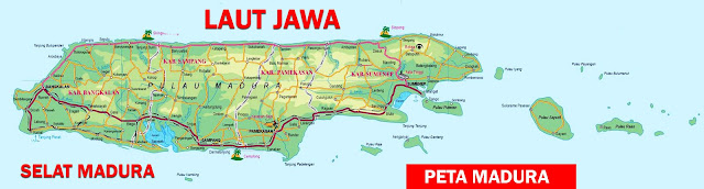 Gambar Peta Madura Lengkap