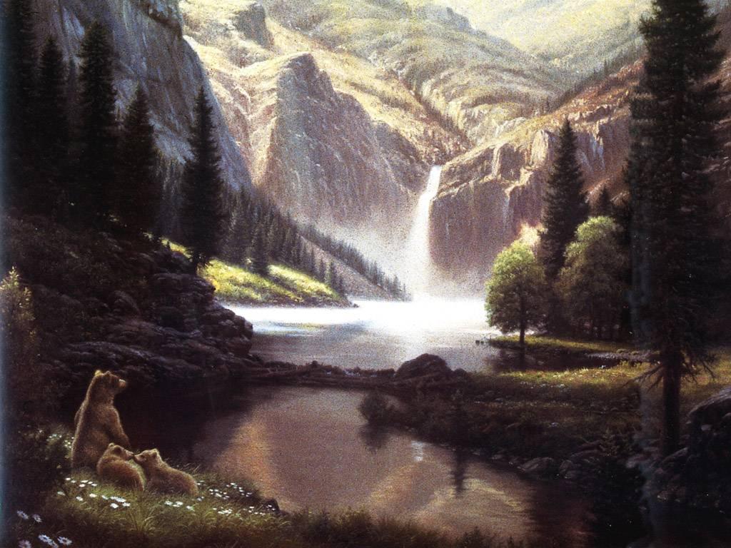 Fondos de pantalla de hermosos paisajes de cascadas for Ver fondos de pantalla