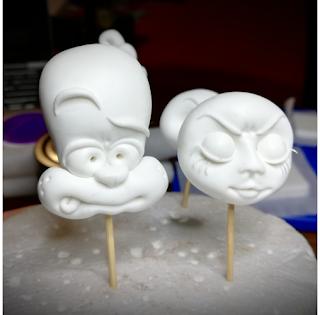 Cupcakes « Cybèle, Atalante et Hippomène » ; étape #1