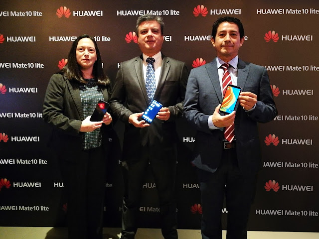 Huawei revela en Ecuador el nuevo HUAWEI Mate 10 lite
