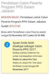 hasil pretes ppgj 2018