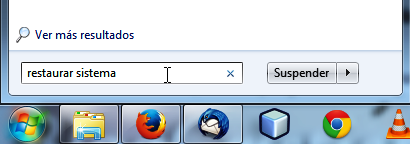 Realizando búsqueda en Windows