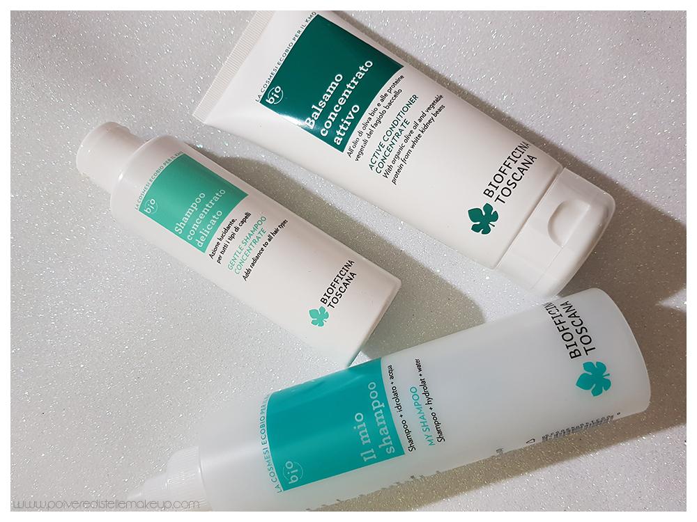 Biofficina Toscana prodotti per capelli