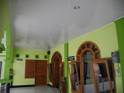 Hasil Pemasangan Masjid Al-Hikmah