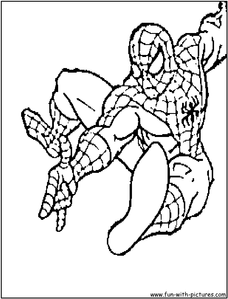 Spiderman disegni da colorare for Disegni da colorare di spiderman