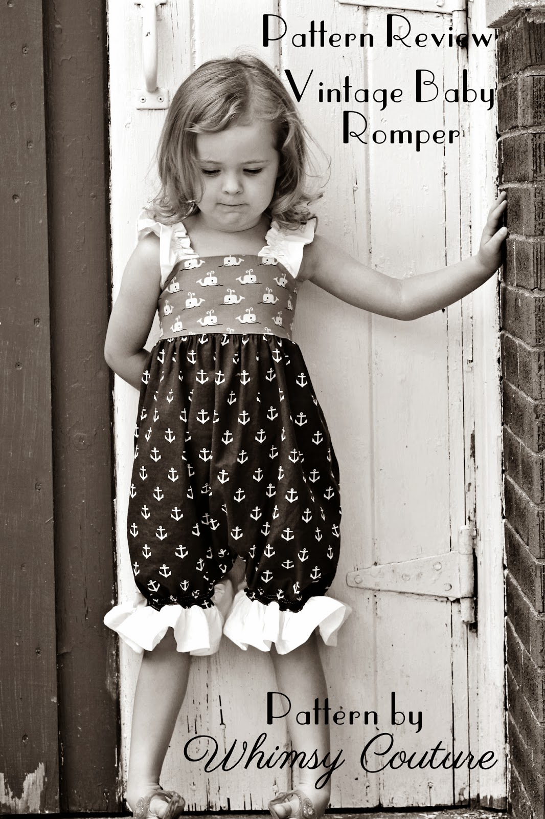 Vintage Baby Romper By Whimsy Couture Pattern Revolution