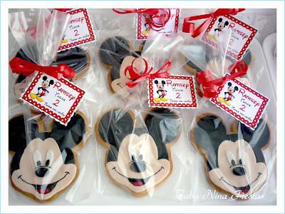 galletas mickey and minnie mouse