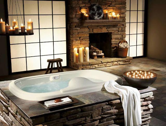 каменная ванная