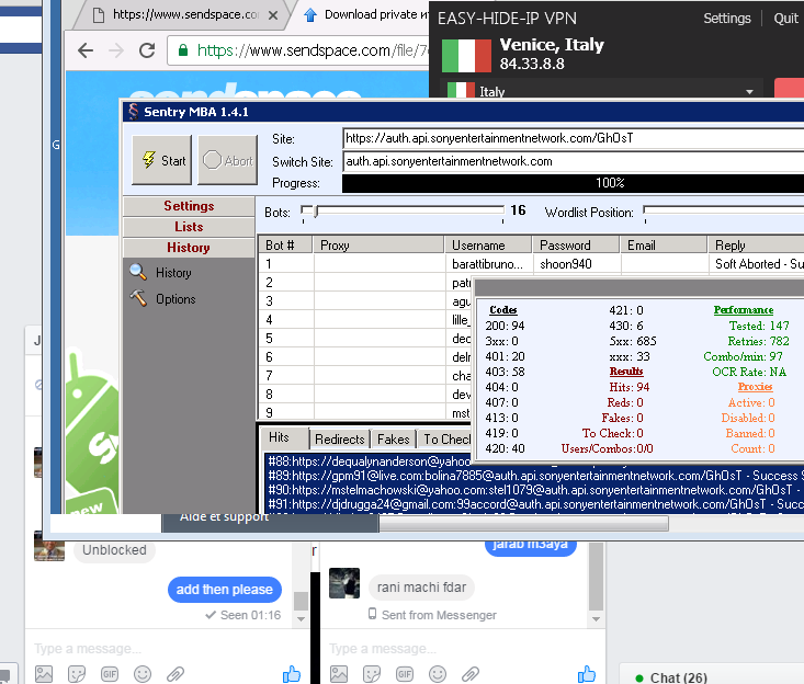 Fresh combos/Proxies Today ( good for sentry mba)!!!! - Free Stuff