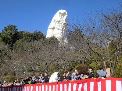 大船観音寺の節分祭
