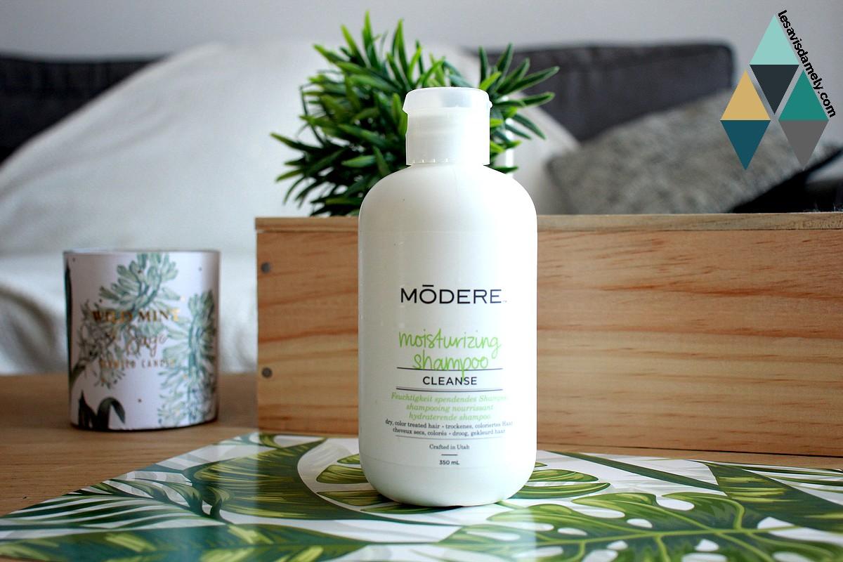shampooing cheveux secs et abimés test modere