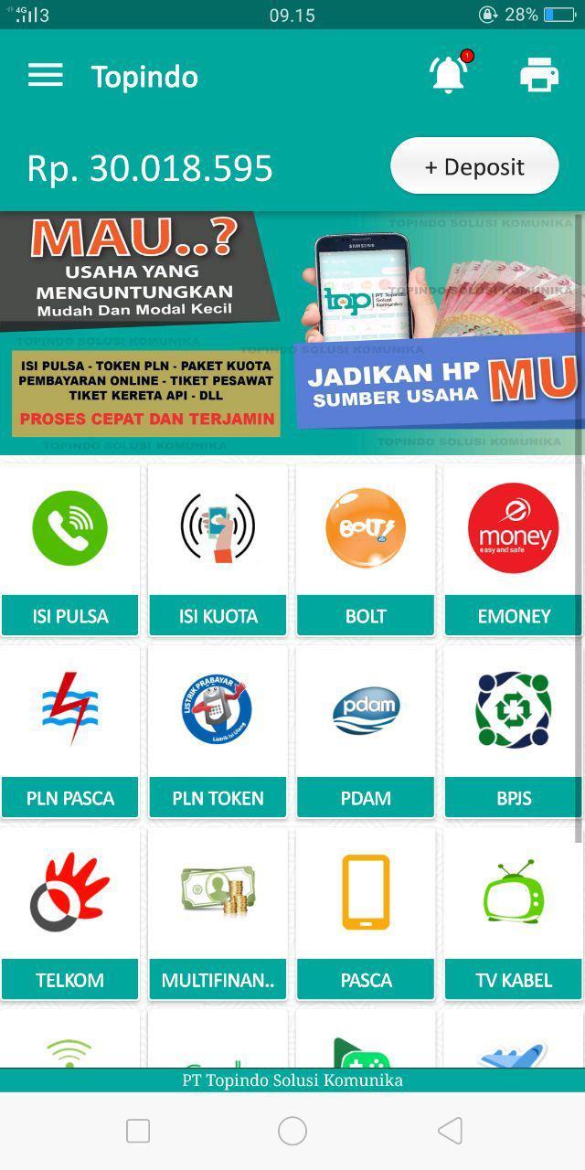 Open Pendaftaran Master Dealer Server Topndo Solusi Komunika