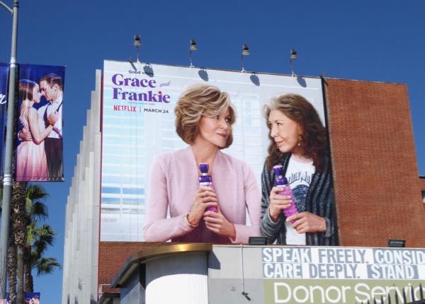 Grace Frankie season 3 billboard
