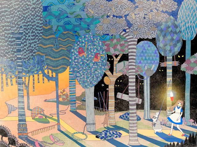 Ilustraciones por Yoko Furusho, arte, imagenes chidas, cool drawings, kawaii, art inspiration.