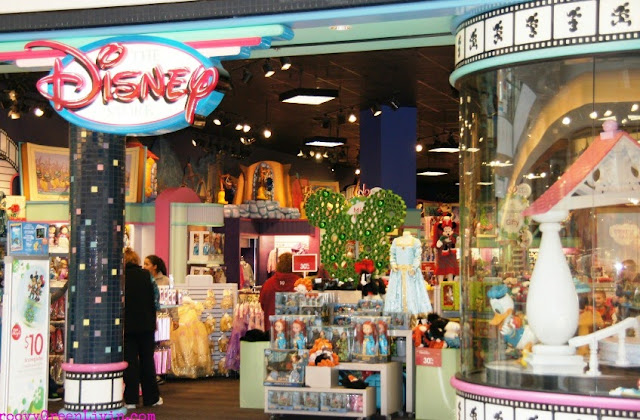 Loja Disney Enxoval Miami Orlando