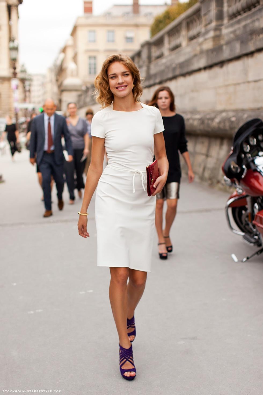 mejor proveedor predominante última colección Vestido blanco de oficina – Vestidos baratos