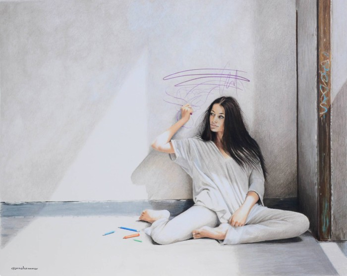 Художник и иллюстратор. Anna Hammer