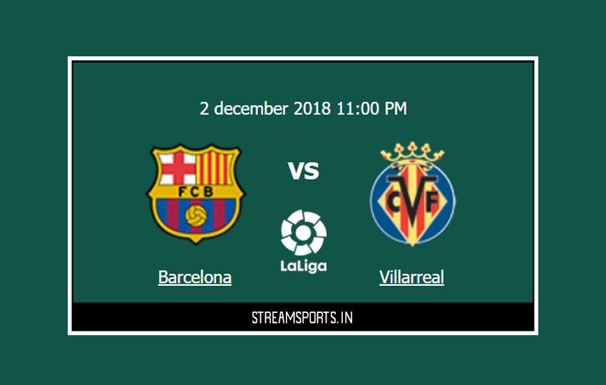 La Liga: Barcelona V/s. villareal Preview and Lineup ...