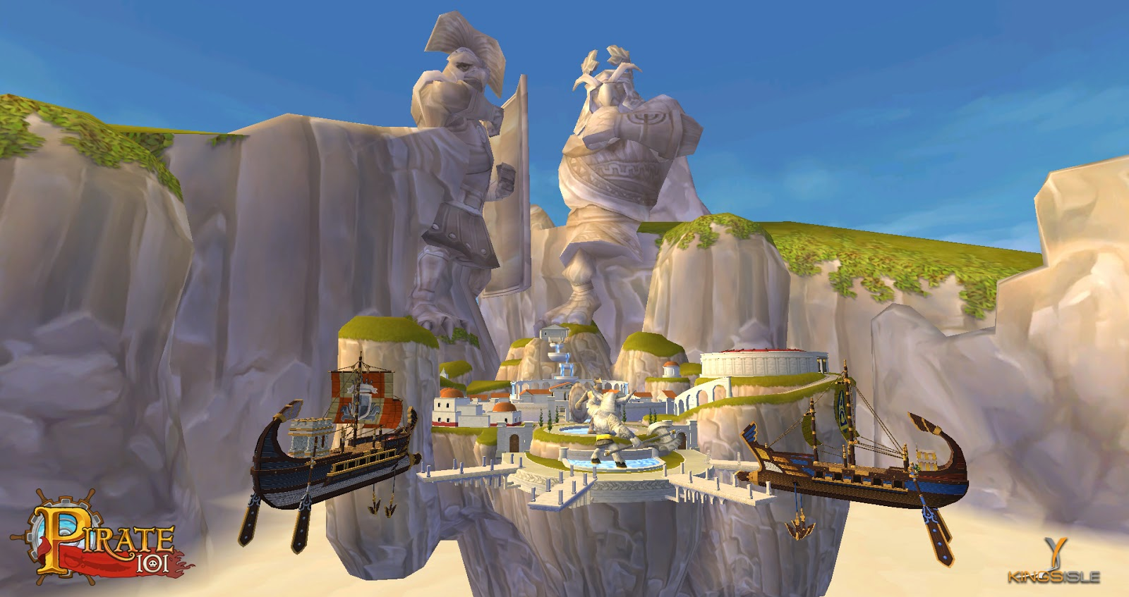 New Pirate101 Background Images! ~ Secrets of the Spiral