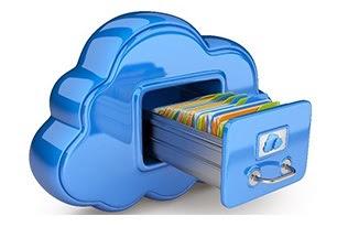 serviços de armazenamento de arquivos na nuvem: Google Drive, iCloud, Dropbox, pCloud, Box e SendSpace