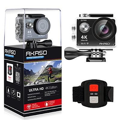 Waterproof Ultra HD 4K WIFI Sports Camcorder Video Camera by Akaso