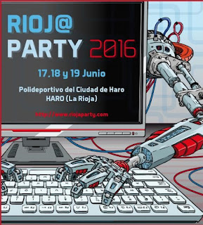 Rioja Party 2016, en Haro nos vemos para la @riojaparty del 17 al 19 de junio