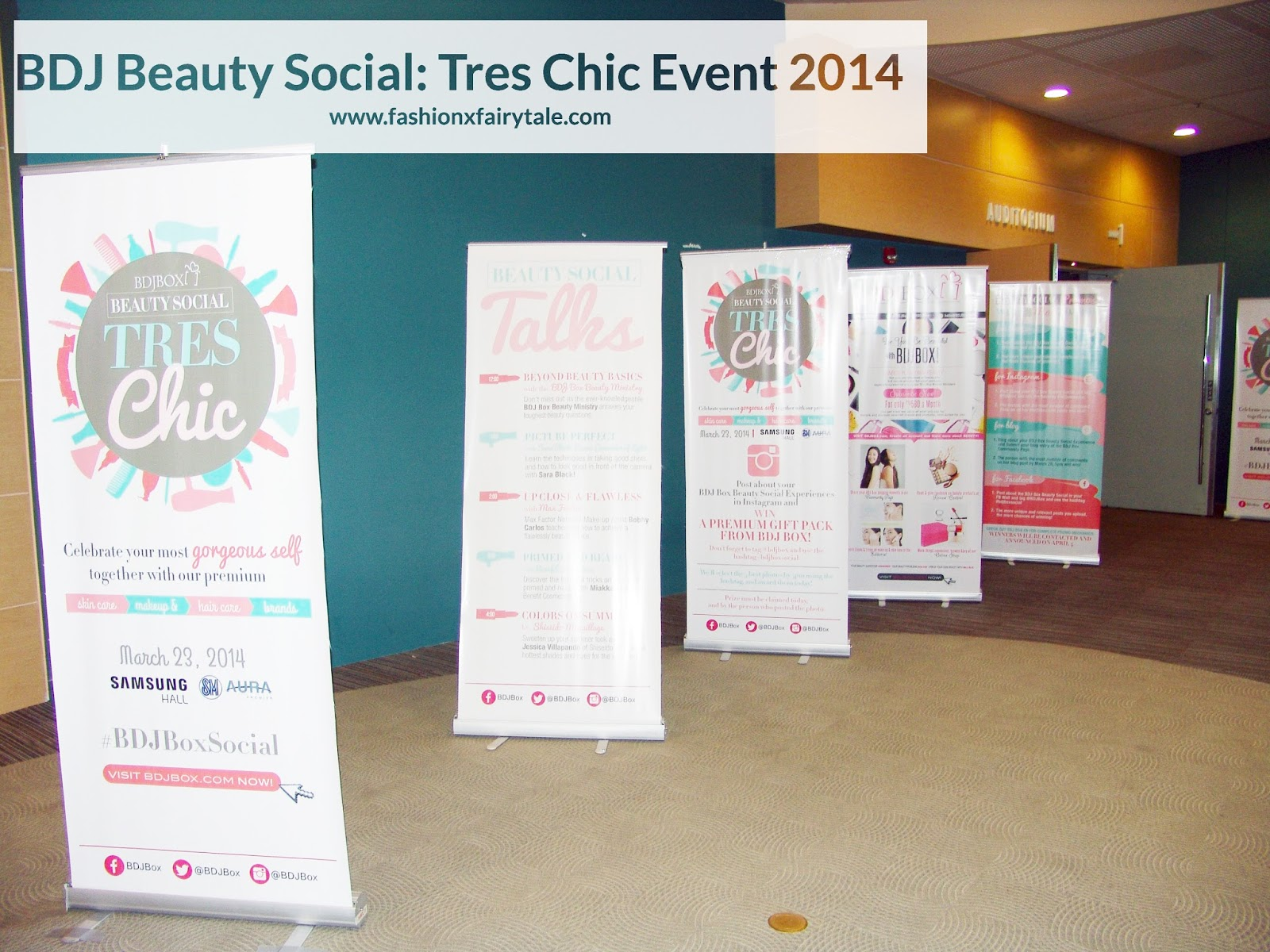 BDJ Beauty Social: Tres Chic Event 2014 Expereince