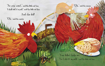 The Little Red Hen: Illustrations by Kate Slater