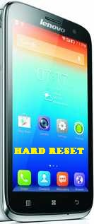 Hard Reset Lenovo A859